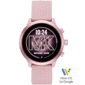 Michael Kors MKGO Gen 4 Pink Silicone Strap Smartwatch £126.65 at Ernest Jones