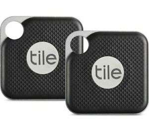 Tile Pro 2018 Bluetooth Tracker Key Finder Locator - iPhone Android - 2 Pack £29.95 ebay / velocityelectronics