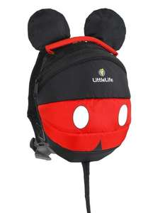 LittleLife Disney Toddler Backpack with Rein - £12.74 at Little Life