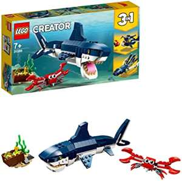 LEGO 31088 Creator 3in1 Deep Sea Creatures Building Set (min order 2) £15.96 (Prime) £20.45 (Non-Prime) @ Amazon