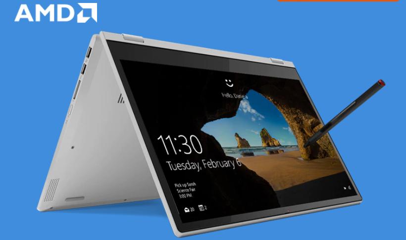 Lenovo Ideapad C340 14 Onyx Black, AMD Ryzen 5, 8GB RAM, 256GB SSD £549.99 / £494.99 w/newsletter discount @ Lenovo UK