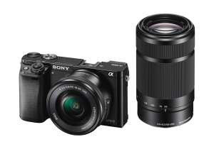 Sony A6000 Mirrorless Camera, 16-50mm OSS & 55-210mm OSS Twin Lens Kit - £529 from CameraWorld