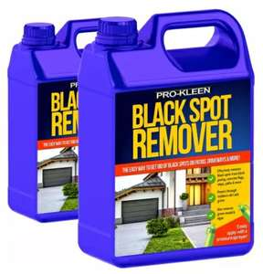 2 x 5L Pro-Kleen Super Strength Black Spot Remover £28.49 delivered with code @ HSD