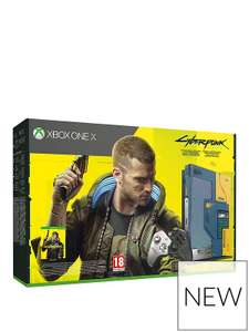 Xbox one X Cyberpunk 2077 Limited Edition Bundle - 1TB Console - £269.99 + £3.95 del at Very