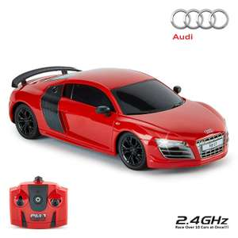 CMJ RC Cars™ Audi R8 GT Officially Licensed Remote Control Car 1:24 Scale Black / Red £7.98 (+£4.49 non-prime)@ Amazon