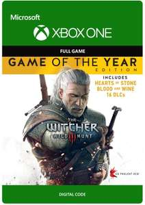 The Witcher 3: Wild Hunt - Game of The Year [Xbox One - Download Code] - £10.49 @ Amazon UK