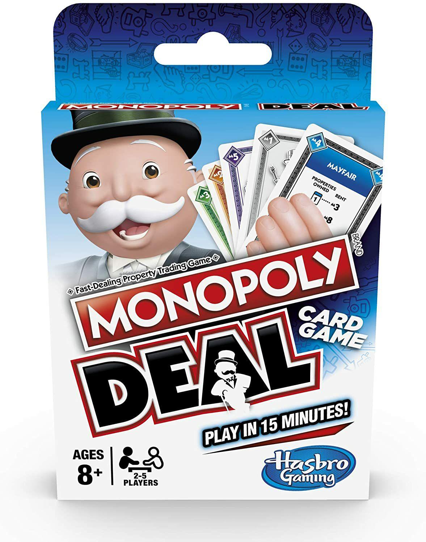 Monopoly Deal Card Game, Multi-Colour - £4.97 (+£4.49) @ Amazon