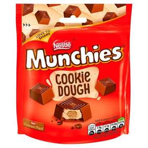 Munchies Cookie Dough 101g - £1 @ Tesco (Min basket £40 + up to £4 delivery)