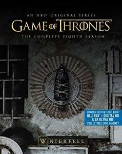 Game of Thrones Season 8 UHD Steelbook - £29.64 delivered @ Amazon.ca