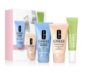 Clinique Purifying Multi-Taskers Skincare Gift Set £10 delivered @ Clinique