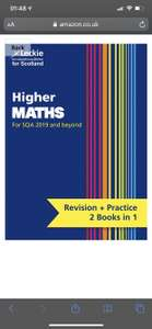 New Higher Maths: Revise for SQA Exams (Leckie Complete Revision & Practice): Revise - Kindle Edition - 99p @ Amazon