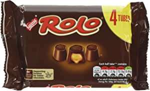 Rolo chocolate- 4 in pack x 12 for £12 (+£4.49 Non-Prime) @ Amazon