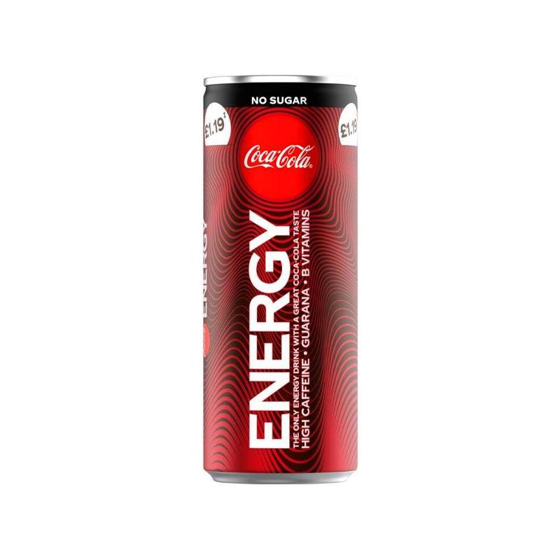 Coke Energy No Sugar - 20p instore Sainsburys Local, Four Oaks