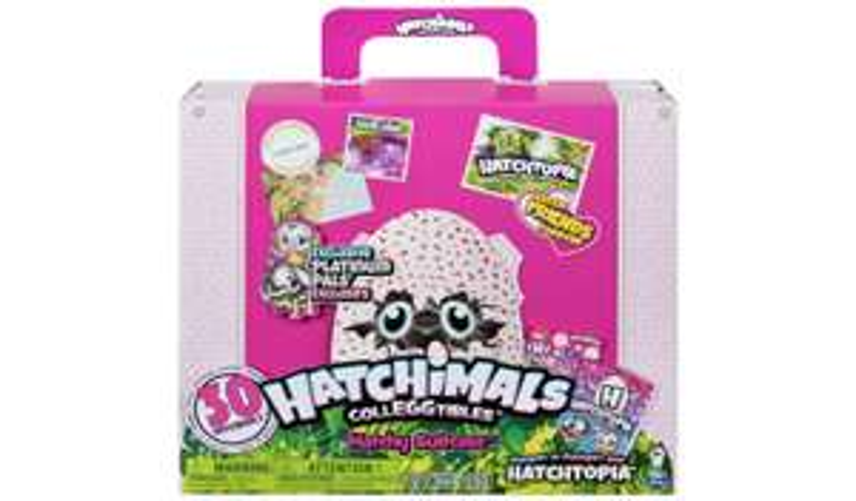 Hatchimals CollEGGtibles Hatchy Suitcase £17.50 @ Argos (£3.95 Delivery)