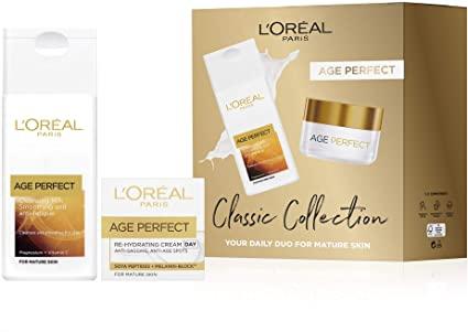 L'Oreal Paris Classic Collection Skin Care Gift Set 50ml & 200ml £5.86 @ Amazon (+£4.49 non-prime)