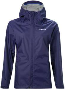 Berghaus Women's Deluge Vented Waterproof Shell Jacket - Size 8 - £25.18 @ Amazon