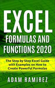 Excel Formulas and Functions 2020 - Kindle Edition now Free @ Amazon