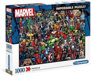Clementoni 39411 Jigsaw Puzzle Marvel 1000 Pieces - MultiColour - £12 (+£4.49 Non-Prime) @ Amazon