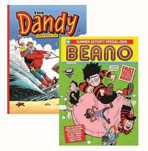 Beano & Dandy Summer Special (2 Bookazines including fart stickers) - £10 @ DC Thomson Shop