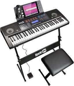 RockJam RJ761-SK 61 Keyboard Piano £82.75 @ Amazon