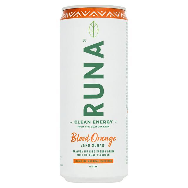 4 x 330ml Runa Clean Energy Drink, Blood Orange, Wild Berry or Pineapple £1 @ Heron Foods (Bentilee)