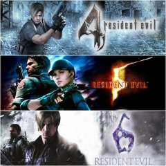 PS4 Resident Evil Triple Pack Bundle (Resident Evil 4, Resident Evil 5 and Resident Evil 6) £11.99 @ Playstation Network