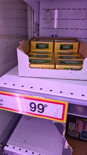 Salted / Unsalted Butter 227g 99p @ Farmfoods (Norwich)