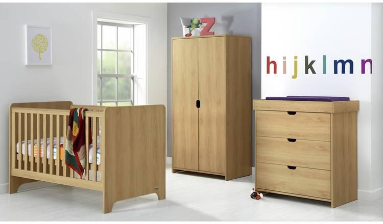 Mamas & Papas Rocco 3 Piece Nursery Furniture Set Warm Oak - £399.99 @ Argos (£6.95 delivery)