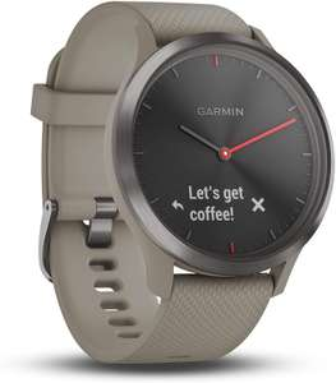 Garmin Vivomove HR Smart Watch - Black and Sandstone (medium) £113.94 Delivered at Argos