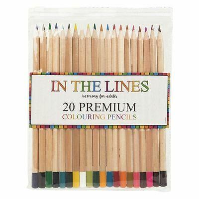 20x Colouring Pencils Premium Blending Colours - £2.69 @ londonmagicstore / eBay