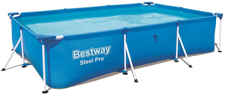 Bestway Rectangular Frame Swimming Pool, Steel Pro, 9.1 ft £77.19 @ Amazon