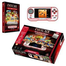 EVERCADE Retro Handheld Console - £54.99 at Argos + £3.95 P&P. Some games at £11.99