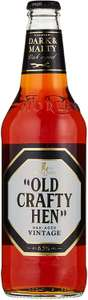 Old Crafty Hen Bottle Old Crafty Hen Ale, 500 ml bottle, Case of 8 £12.80 + £4.49 NP @ Amazon