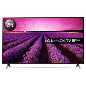 "LG 49SM8500PLA 49"" Smart 4K Ultra HD TV with Nano Cell, HDR10, Dolby Vision and Dolby Atmos + 5 Year Guarantee - £466.65 With Code @ Hughes"