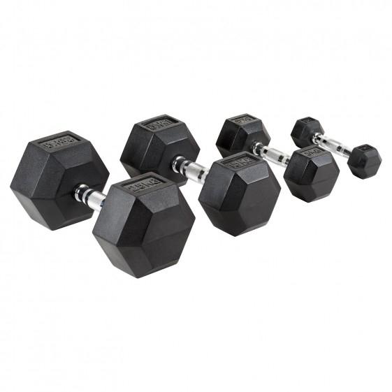Mirafit Hex dumbell pair 27.5kg - £129.95 (+£4.99 Postage) @ Mirafit