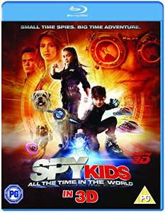 Spy Kids 4: All The Time In The World (Blu-ray 3D) [2017] - £2.79 (+£2.99 Non-Prime) @ Amazon