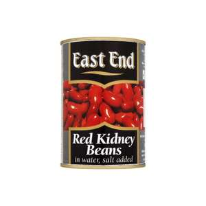 East End Red Kidney Beans 400g - 19p Instore @ Aldi (Leeds)