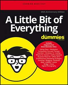 A Little Bit of Everything For Dummies Kindle Edition - Free @ Amazon