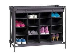 Livarno Living Fabric 16 Shoe Rack instore at Lidl for £7.50 (found Bradford)