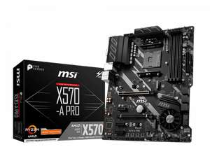 MSI X570-A PRO AMD AM4 Motherboard for £135 at Currys with code