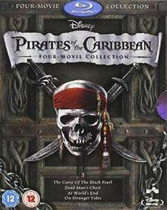 Pirates of the Caribbean 1-4 Box Set [Blu-ray] Used - £7.29 @ MusicMagPie