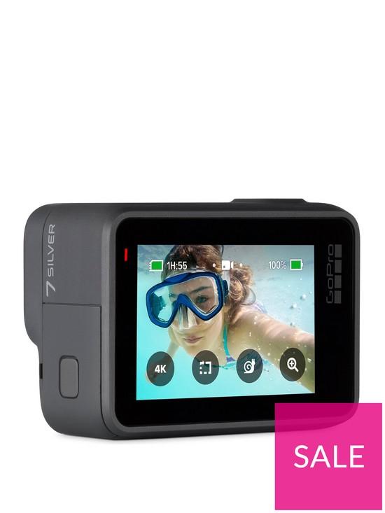 GoPro Hero7 Silver + Adventure Kit £179.99 + £3.99 del at Very