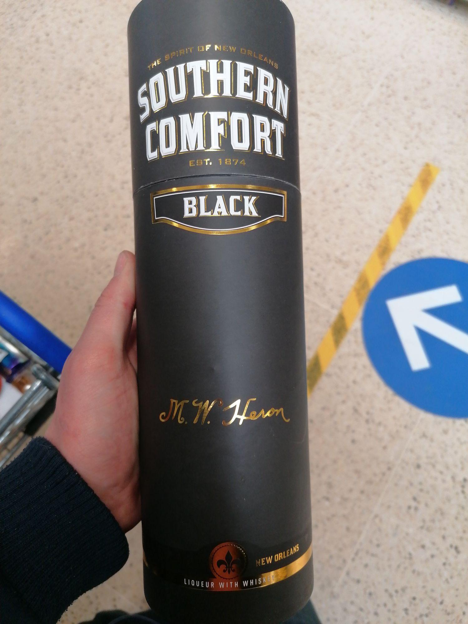 Southern Comfort Black edition 70cl £13.75 instore @ Tesco Berwick-upon-Tweed