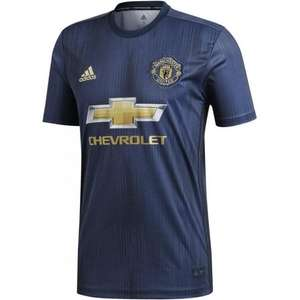 ADIDAS Men's Manchester United 3rd Jersey 18/19 SMALL £17.83 + £7.40 delivery @ BMC Sports