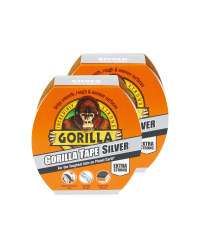 Gorilla Duct Tape 2 x 11m Pack - £3.99 @ Aldi