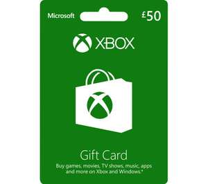 [Xbox One] £50 Xbox Gift Card + 6 Months Spotify Premium (New Accounts) - £45 with code delivered @ Currys PC World
