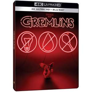 Gremlins - 4K Ultra HD (Includes 2D Blu-ray) Zavvi Exclusive Steelbook £18.99 with free delivery code at Zavvi
