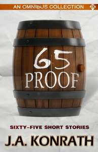 65 Proof (Jack Daniels and Other Thriller Stories) Kindle Edition now Free @ Amazon