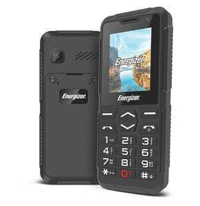 Energizer HARDCASE H10 - Feature Phone 2G Mobile Phone Dual Sim Black - £14.47 Dispatched From And Sold By Connected247