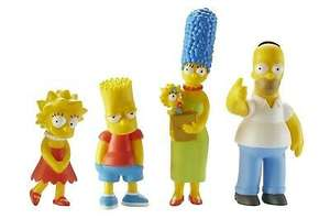 "Character Options 3"" The Simpsons Family Collectible Action Figures Set - £9.99 @ barnardos_charity / eBay"